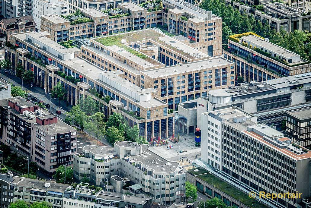 Foto: Metalli-Zentrum in Zug.. (Luftaufnahme von Niklaus Wächter)