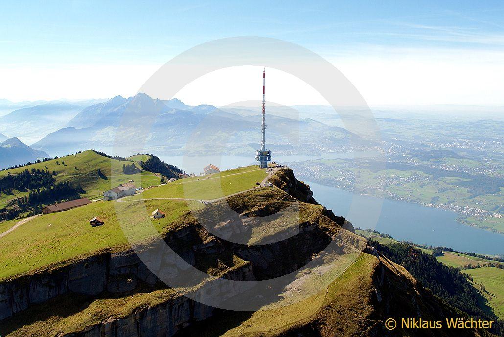 Foto: Die Rigi. (Luftaufnahme von Niklaus Wächter)