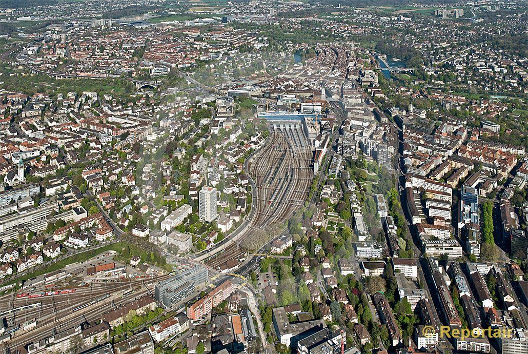 Foto: Bern Zentrum.. (Luftaufnahme von Niklaus Wächter)