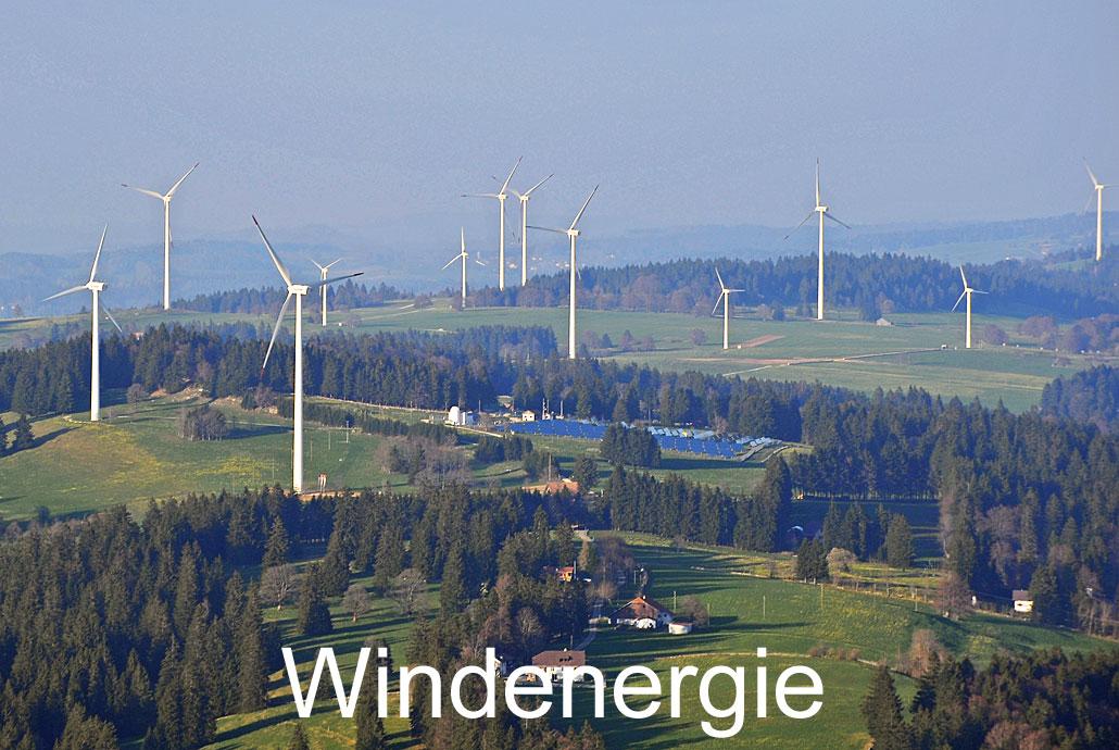 Foto: WINDENERGIE. (Luftaufnahme von Niklaus Wächter)