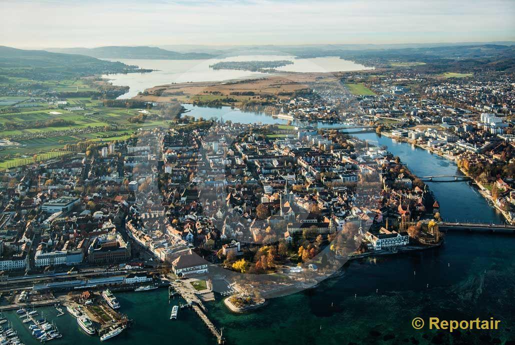 Foto: Kreuzlingen am Bodensee D. (Luftaufnahme von Niklaus Wächter)