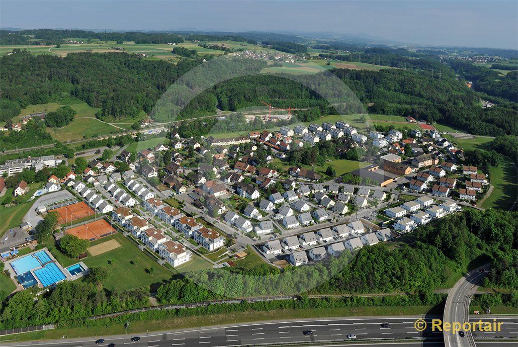 Foto: Grafstal ZH. (Luftaufnahme von Niklaus Wächter)