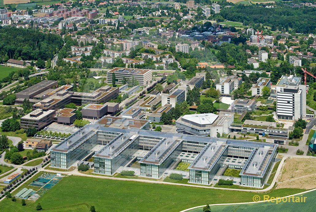 Foto: ETH Hönggerberg. (Luftaufnahme von Niklaus Wächter)