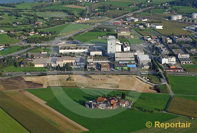 Foto: Bauernhofsterben. (Luftaufnahme von Niklaus Wächter)