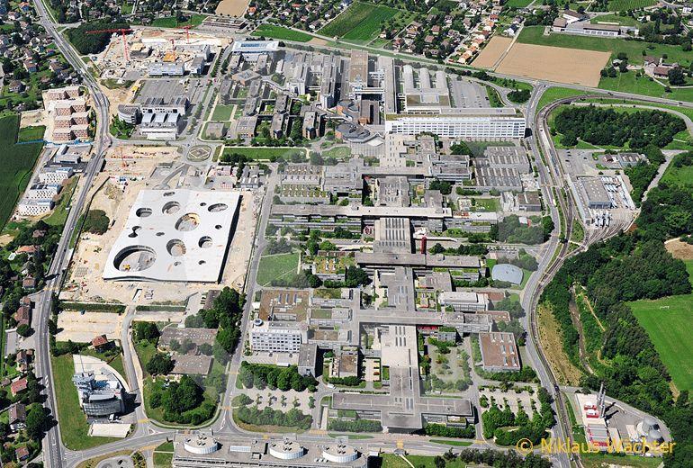 Foto: ETH Lausanne. (Luftaufnahme von Niklaus Wächter)