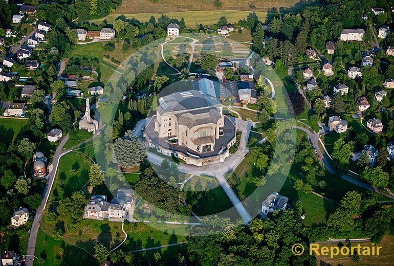 Foto: Das Goetheanum in Dornach (BL.9. (Luftaufnahme von Niklaus Wächter)