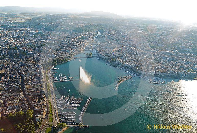 Foto: Genf. (Luftaufnahme von Niklaus Wächter)