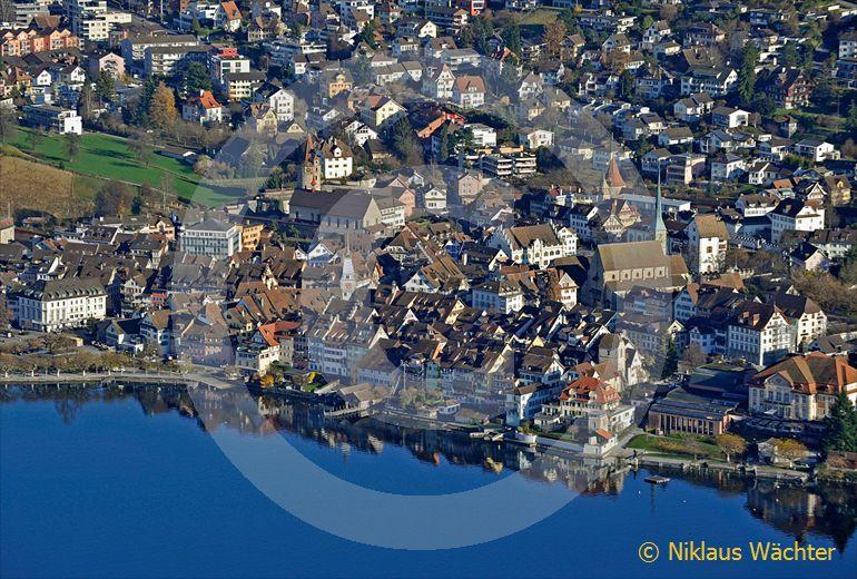 Foto: Zug. (Luftaufnahme von Niklaus Wächter)
