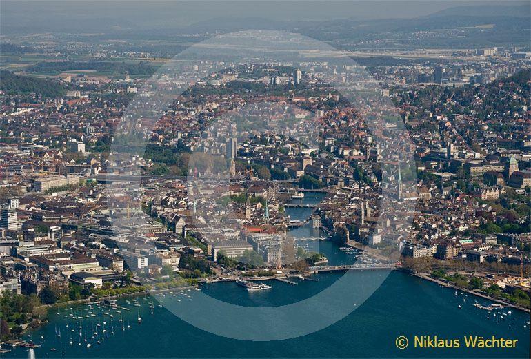 Foto: Zürich (ZH). (Luftaufnahme von Niklaus Wächter)