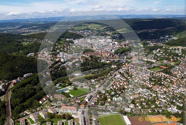 Foto: Baden. (Luftaufnahme von Niklaus Wächter)