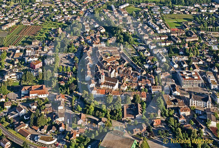 Foto: Sursee (LU). (Luftaufnahme von Niklaus Wächter)