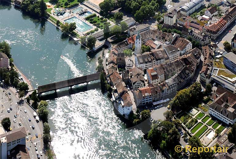 Foto: Die Altstadt von Olten.. (Luftaufnahme von Niklaus Wächter)
