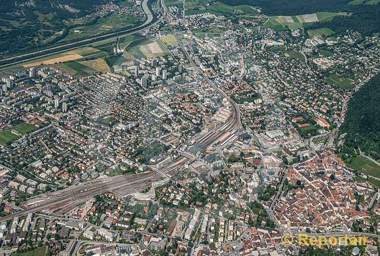 Foto: Chur.. (Luftaufnahme von Niklaus Wächter)