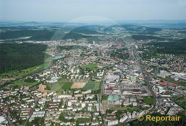 Foto: Die Stadt Winterthur.. (Luftaufnahme von Niklaus Wächter)