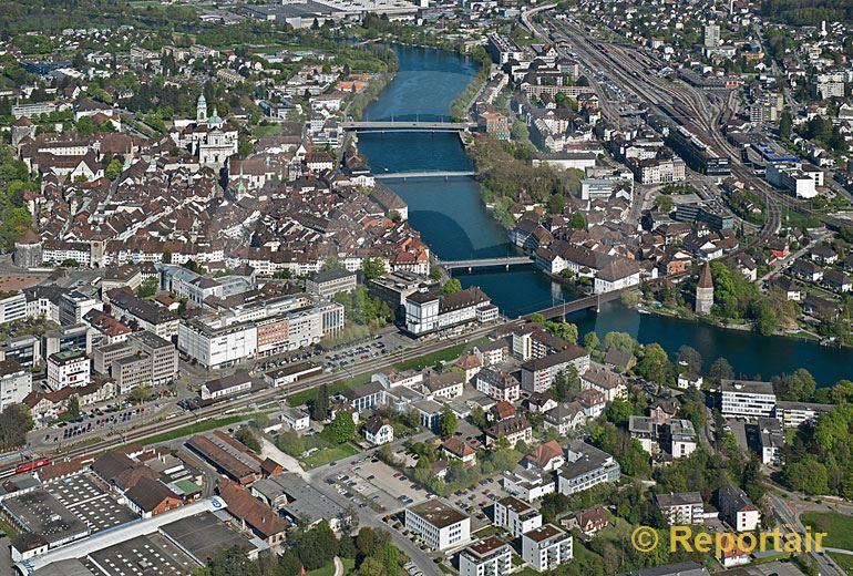 Foto: Solothurn.. (Luftaufnahme von Niklaus Wächter)