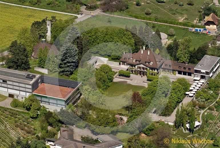 Foto: Swiss Re Centre for Global Dialogue in Rüschlikon (ZH). (Luftaufnahme von Niklaus Wächter)