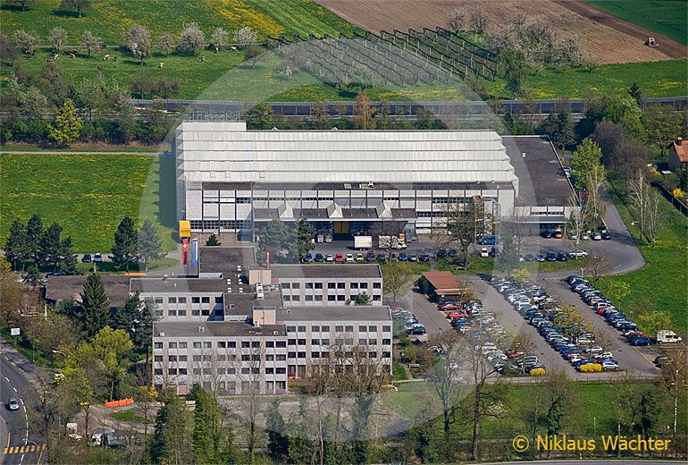 Foto: Bossard Group Steinhausen (ZG). (Luftaufnahme von Niklaus Wächter)