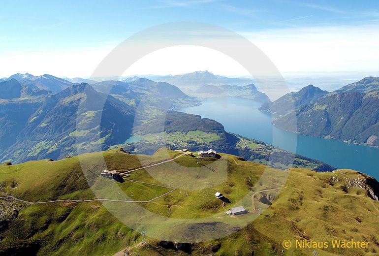 Foto: Der Fronalpstock. (Luftaufnahme von Niklaus Wächter)