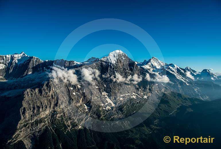 Foto: Der Eiger.. (Luftaufnahme von Niklaus Wächter)