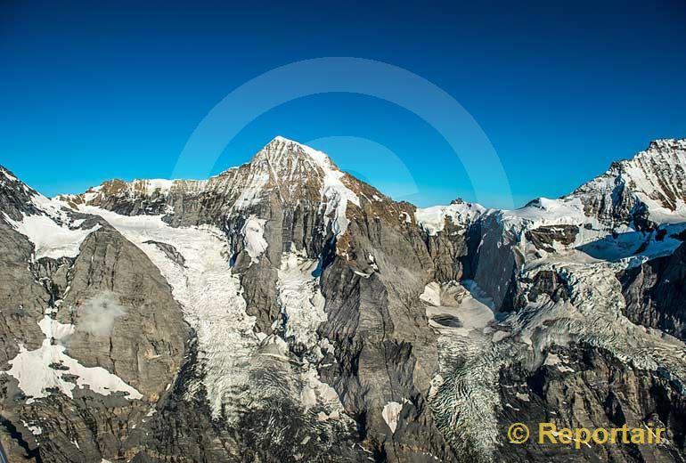 Foto: Der Mönch.. (Luftaufnahme von Niklaus Wächter)