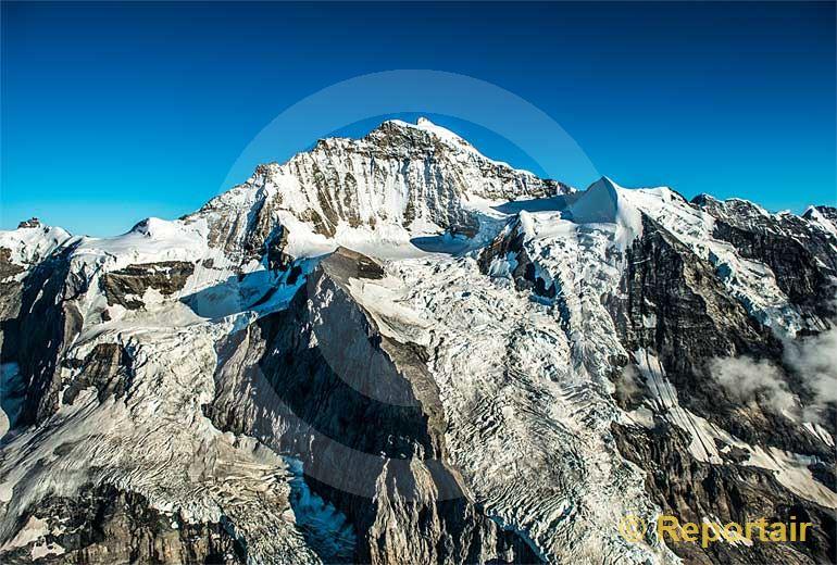 Foto: Die Jungfrau.. (Luftaufnahme von Niklaus Wächter)
