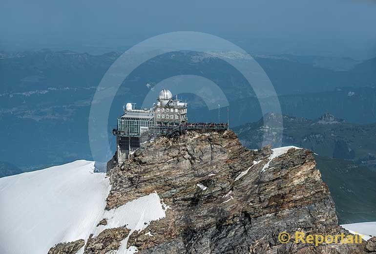 Foto: Das Jungfraujoch.. (Luftaufnahme von Niklaus Wächter)