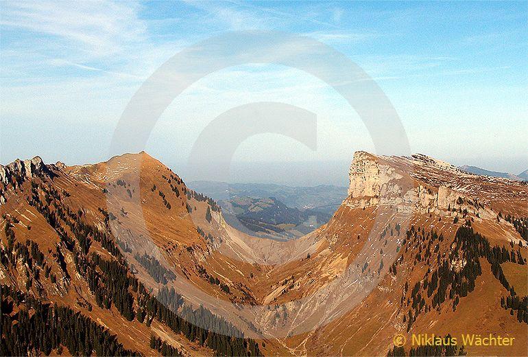Foto: Die Sichel. (Luftaufnahme von Niklaus Wächter)
