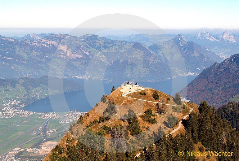 Foto: Das Stanserhorn. (Luftaufnahme von Niklaus Wächter)
