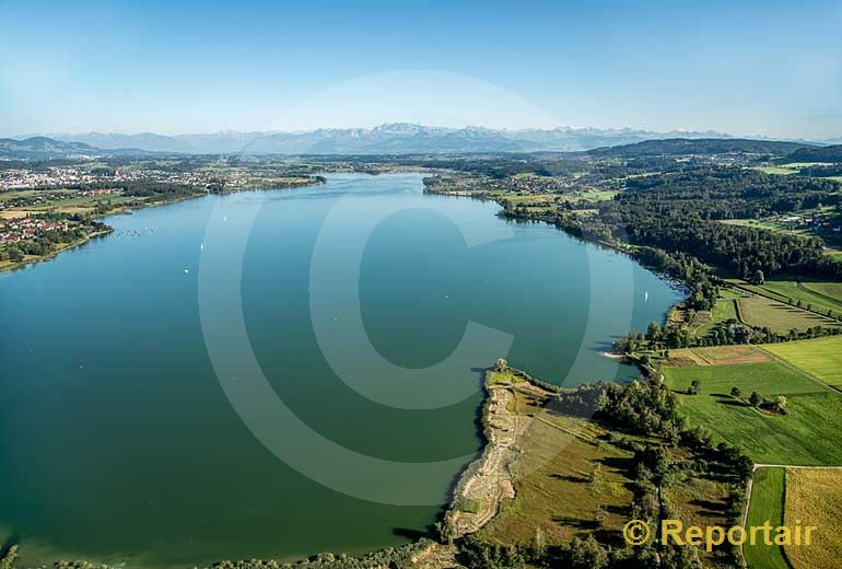 Foto: Der Greifensee ZH. (Luftaufnahme von Niklaus Wächter)