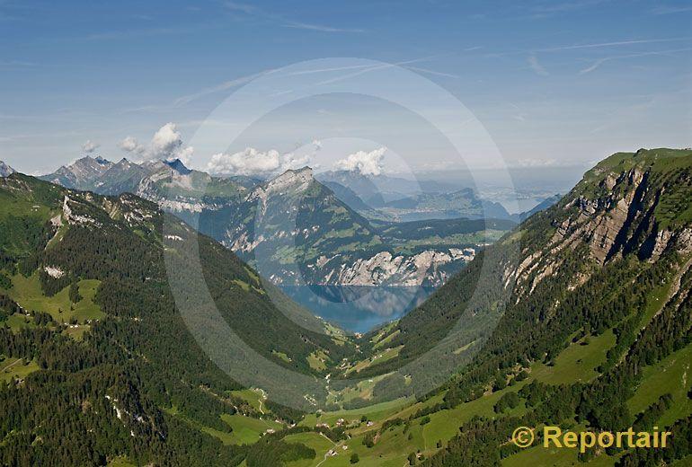 Foto: Riemenstaldental UR. (Luftaufnahme von Niklaus Wächter)