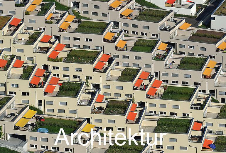Foto: ARCHITEKTUR. (Luftaufnahme von Niklaus Wächter)