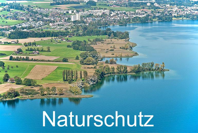 Foto: NATURSCHUTZ. (Luftaufnahme von Niklaus Wächter)