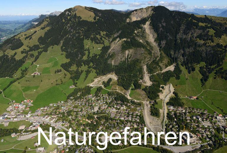 Foto: NATURGEFAHREN. (Luftaufnahme von Niklaus Wächter)