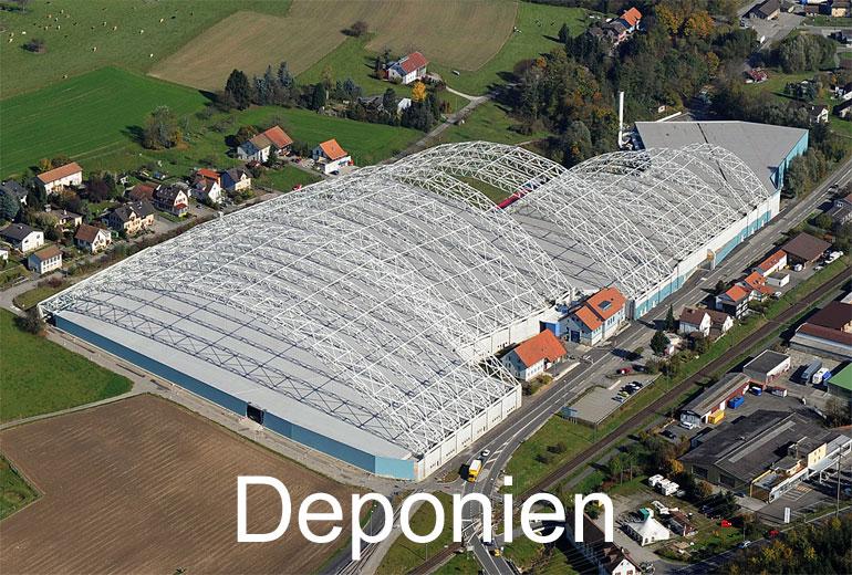 Foto: DEPONIEN. (Luftaufnahme von Niklaus Wächter)