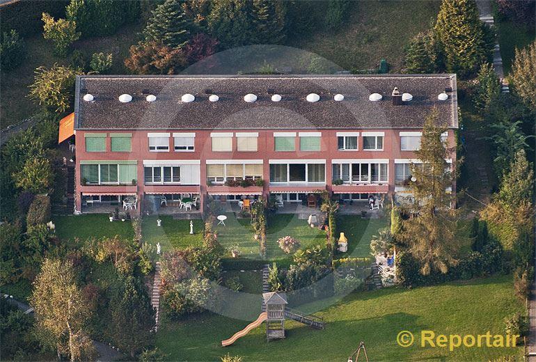 Foto: Reiheneinfamilienhäuser. (Luftaufnahme von Niklaus Wächter)