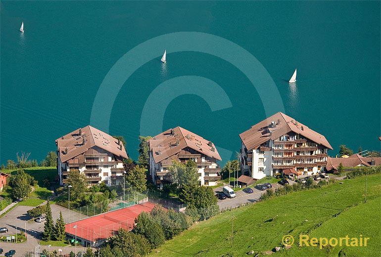 Foto: Das Hotel und Naturhaus Bellevue in Seelisberg UR.. (Luftaufnahme von Niklaus Wächter)