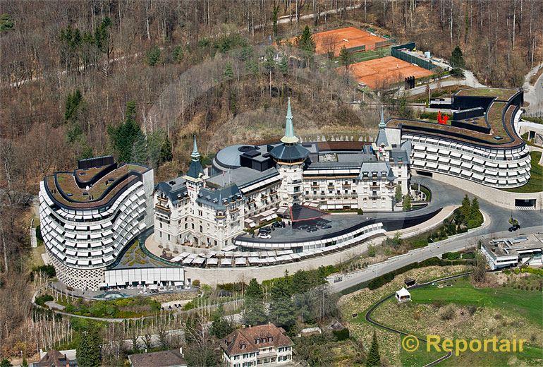 Foto: Das .Hotel Dolder in Zürich.. (Luftaufnahme von Niklaus Wächter)