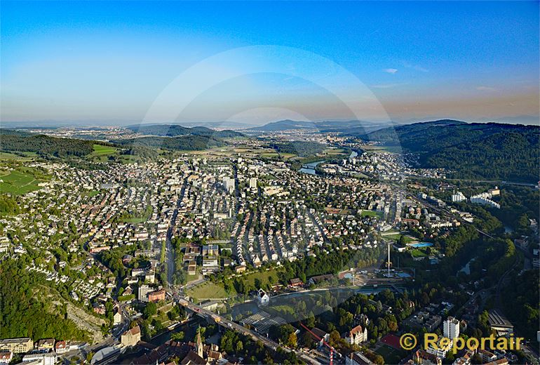 Foto: Wettingen AG bei Baden. (Luftaufnahme von Niklaus Wächter)