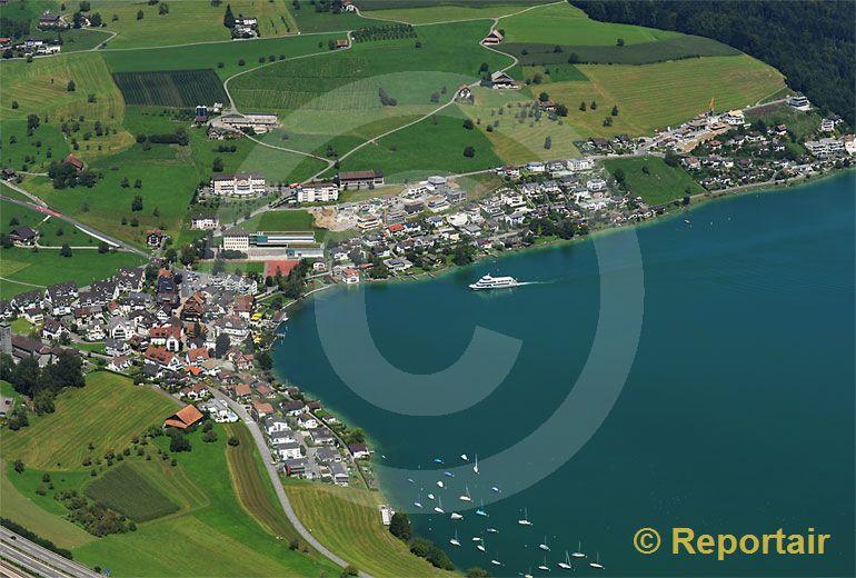 Foto: Immensee SZ. (Luftaufnahme von Niklaus Wächter)
