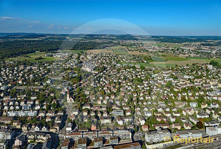 Foto: Wallisellen ZH. (Luftaufnahme von Niklaus Wächter)
