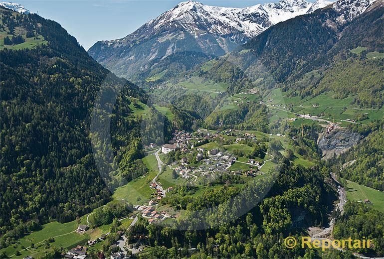 Foto: Präfers SG.oberhalb Bad Ragaz .. (Luftaufnahme von Niklaus Wächter)