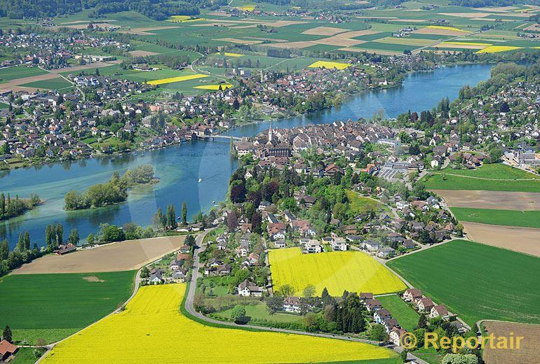Foto: Stein am Rhein SH im Frühling... (Luftaufnahme von Niklaus Wächter)