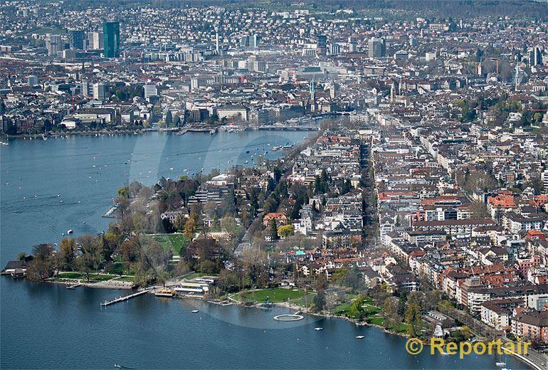 Foto: Zürich-Seefeld.. (Luftaufnahme von Niklaus Wächter)