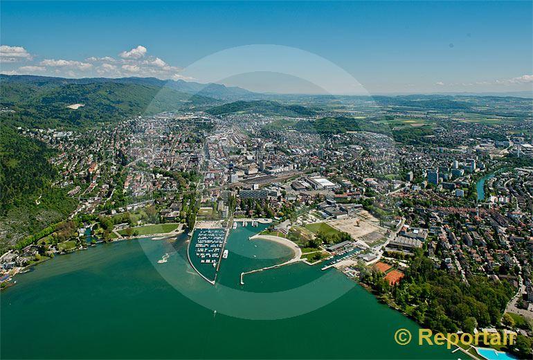 Foto: Biel.. (Luftaufnahme von Niklaus Wächter)