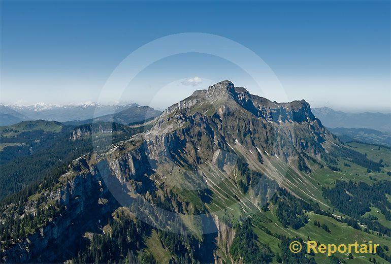 Foto: Hohgant BE. (Luftaufnahme von Niklaus Wächter)