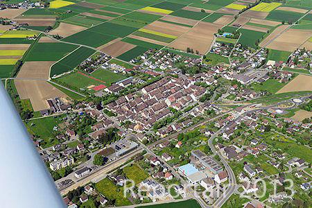 Luftaufnahme Kanton Schaffhausen/Neunkirch - Foto Neunkirch 7098