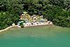 Foto 405: Der einzige offizielle allgemein zugängliche FKK-Strand der Schweiz  bei Zug.