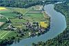Foto 340: Der Weiler Ellikon (ZH) am Rhein..