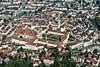 Foto 373: St.Gallen mit seiner Altstadt und dem Kloster..