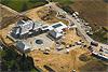 Foto 500: Bau einer Prunkvilla in Risch ZG am Zugersee im Jahr 2008.